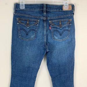 Levi's Boot Cut 515 Medium Wash Jeans 4 Short